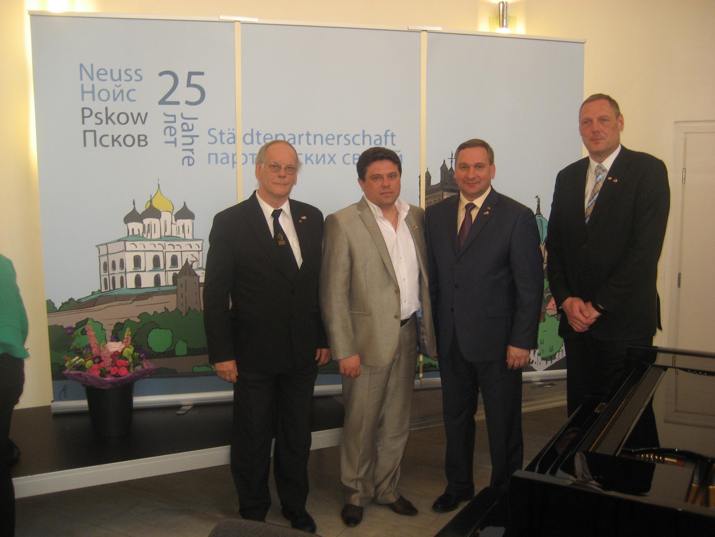 25 лет Псков-Нойсс